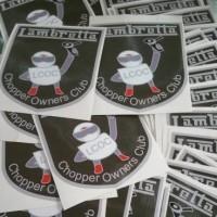 Sheild stickers